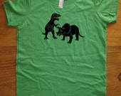 Dinosaur shirt - Kids Shirt - T Rex TShirt - 8 Colors Available - Sizes 2T, 4T, 6, 8, 10, 12 - Gift Friendly