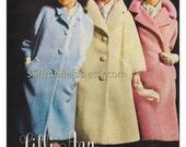 Vintage Ad 1966 Lilli Ann Coats, Mohair & Wool Petites, Blue Pink Cream, Magazine Advertisement, Buy 1 Get 1 Free