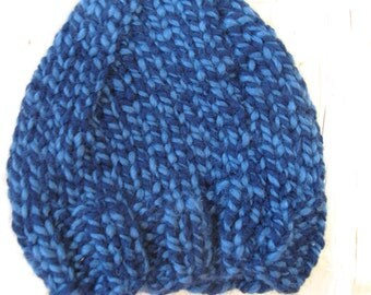 Toddler's Gnome Hat- Blue- Ready to Ship