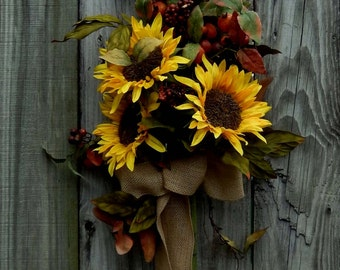 Fall Wreath , Front Door Wreath , Autumn Wreath , Wreath , Fall Decor , Summer Wreath , Fall Door Wreath