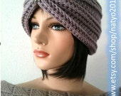 INSTANT DOWNLOAD Turban Style - Rhinestone Beanie Crochet Pattern