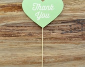 Heart Photo Prop - Thank You - Thirsty