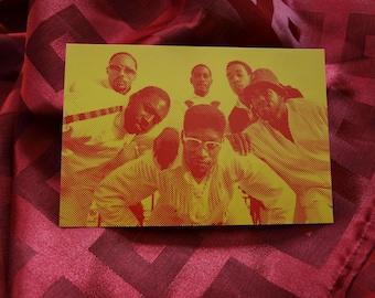 Stetsasonic De La Soul Latifah 4 Ever 1988 Invitation Record LP Album Release Party And Show Tommy Boy Avalon Hotel Rap Hip Hop Soul Funk