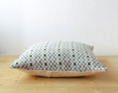 Knitted graphic pillow cover / wool decorative cushion cover / Argyle pillow cover / minimalist home decor