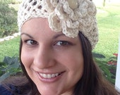 Crochet Pattern for Lacy Headwrap Headband - Toddler through Large Adult sizes - Welcome to sell finished items