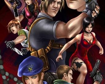 """11x17"""" Resident Evil"""