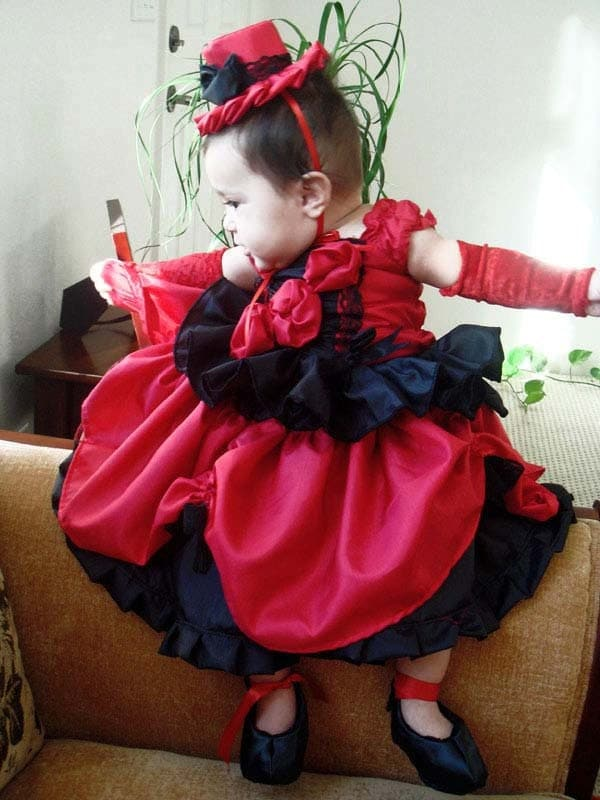 Personality Wear Pageants Pageant Red Wear Baby Girl