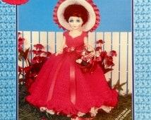Carol L. Alexander MISS HEATHER Crochet Musical Fragrance Doll By Td Creations - Crochet Doll Dress Pattern