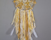 Sunshine and Daisies Boho Dreamcatcher