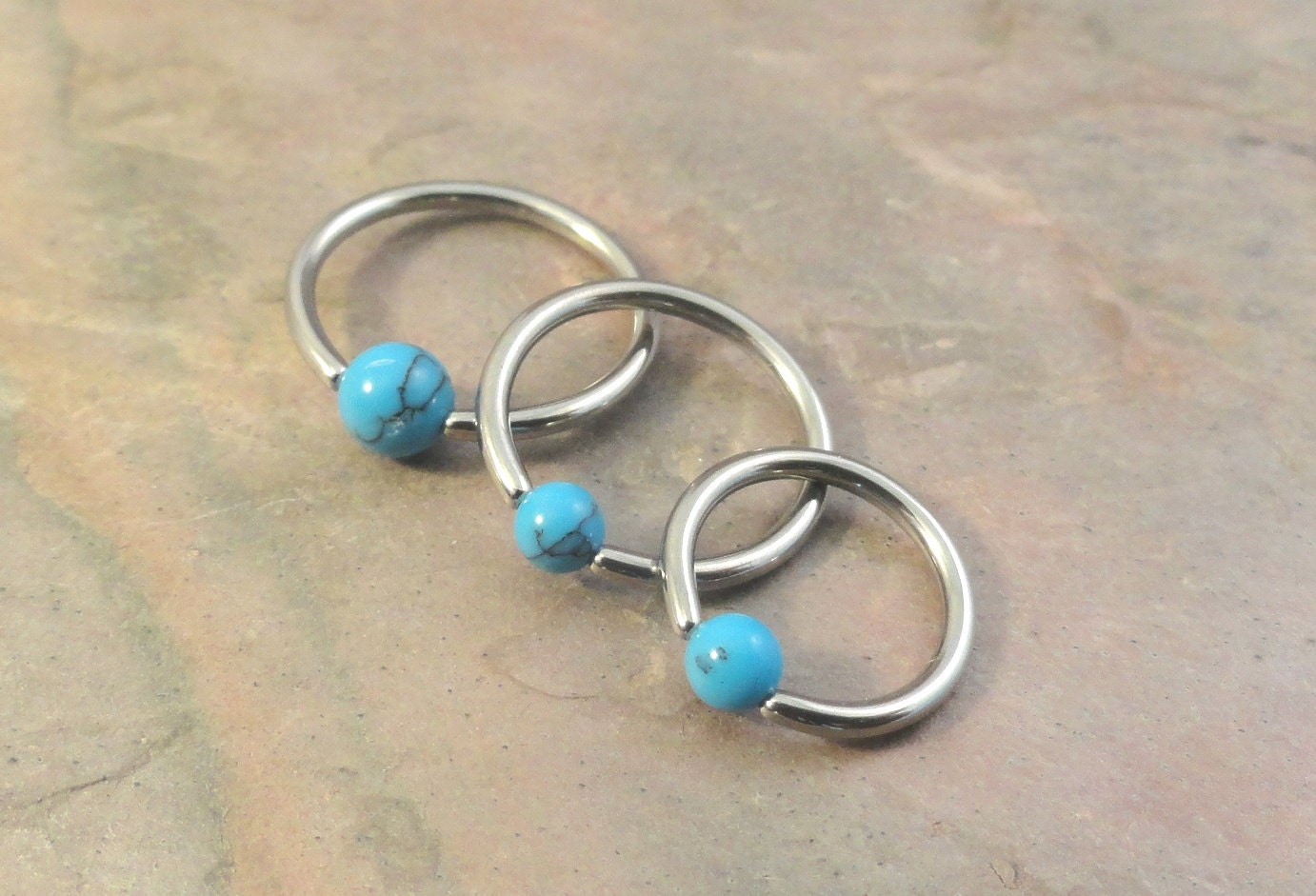 16 hoop earrings 16 turquoise cbr cartilage hoop earring tragus 7989