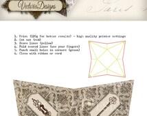 Keys Steampunk pyramid box vintage printable images instant download digital collage sheet VD0452