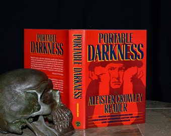 Portable Darkness an Aleister Crowley Reader - Stated 1st Edition - Great Beast 666 - Magick, Sex, Occultism, etc.. Large Hardback w/ DJ