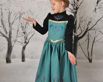 Elsa's Coronation Dress - Sizes 2T, 3T, 4T, 5, 6, 7, 8 and 10