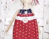 "Primitive Folk Art Raggedy Annie Ann Doll ""Joyce"" Prims*Gone*Wild"