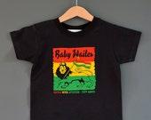 Baby Wailer Kids Reggae T-shirt a Rasta Baby tribute to Bob Marley and The Wailers 1-2 years