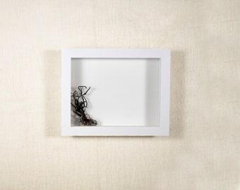 Shadow Box Frame 16x20 - EXTRA Deep Shadow Box, 6 Inch - 7 Inch - 8 Inch Deep, Display Frame - White