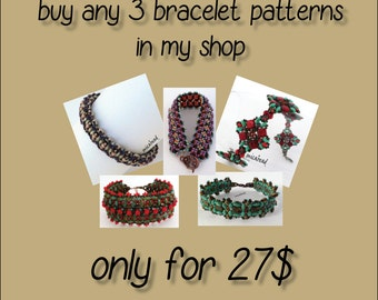 SPECIAL OFFER - 3 patterns for 27USD