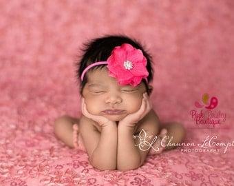Baby Headbands- You Pick 1 Infant headband - Baby Girl Headbands - Baby Girl Hair Accessories - Baby Bows - Baby Hair bows - Flower Headband