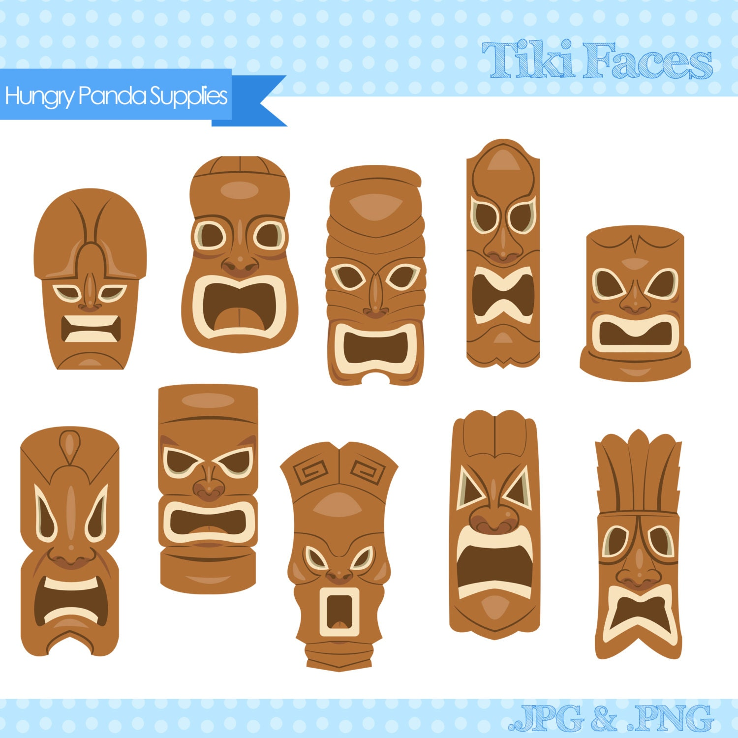 Gallery For gt Tiki Man Face