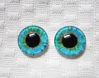 14mm glass eyes