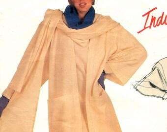 Claude Montana jacket, dress & shawl pattern -- Vogue Individualist 1308