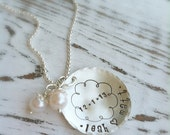 Personalized Anniversary - Engagement Necklace with Date