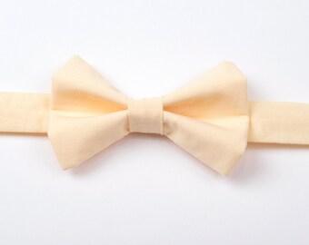 Peach Bow Tie, adult bow tie, boys bow tie, boys bow tie, men's bow tie, boys peach bow tie, toddler bow tie, baby bow tie, child's bow tie