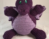 Purple Dragon Stuffed Animal