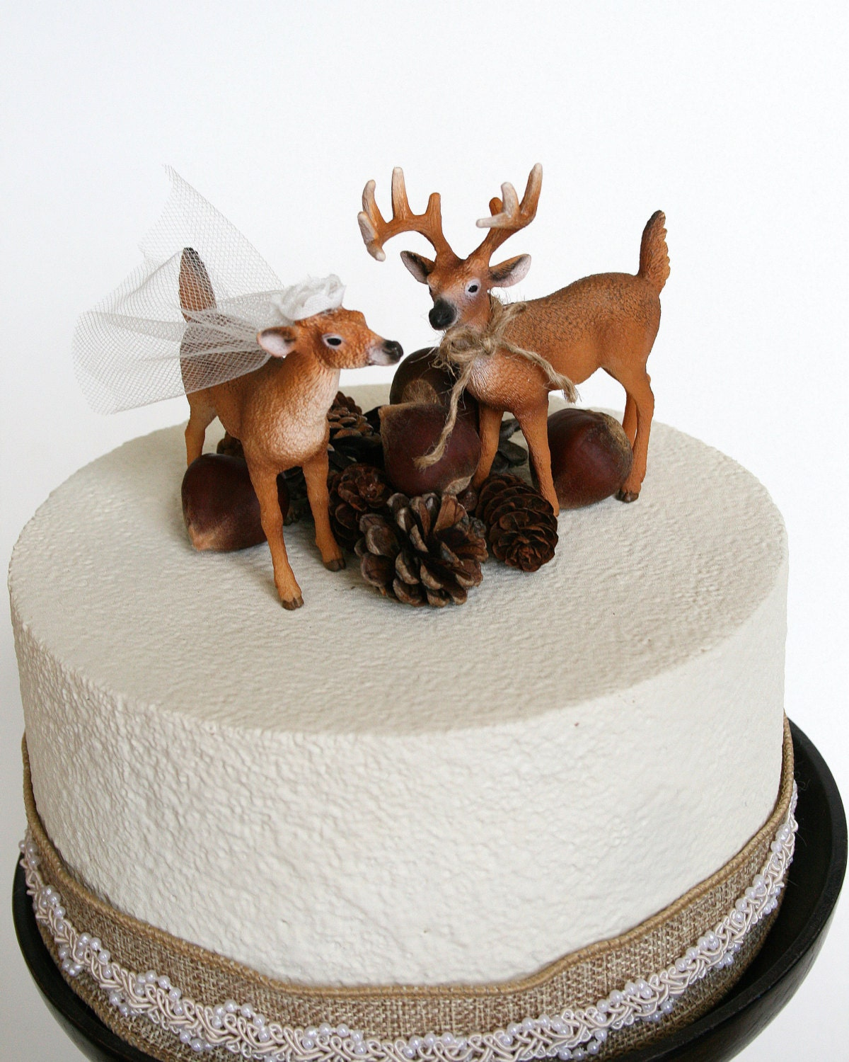 Redneck Cake Topper Deer Cake Topper Wedding Cake Topper