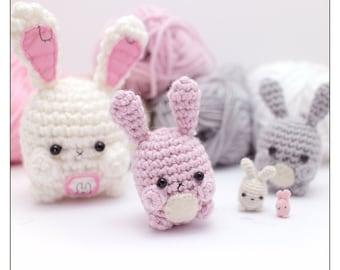 Amigurumi Cute Rabbit : Popular items for crocheted rabbit on Etsy
