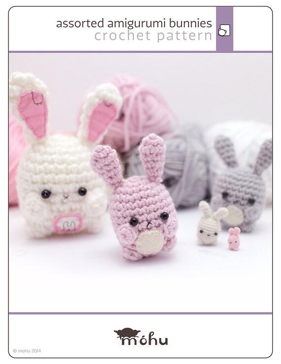Amigurumi Cute Bunny : amigurumi bunny pattern - cute crochet rabbit pattern by ...