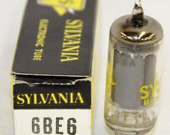 Sylvania 6BE6 Electronic Tube - w/ Original Box - Vintage 1960's