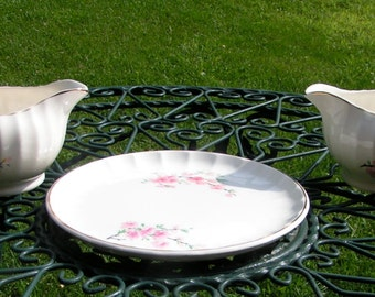 3 Piece Set BOLERO by WS George Germany 1940s Two Creamers and A Serving Plate