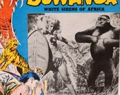 Bowanga Bowanga Movie Lobby Flyer 50s Movie Ad Pinup White Sirens of Africa Sexy Jungle Adventure 1951 Vixens Leopard Skin FREE US SHIP