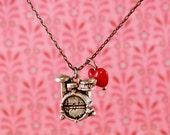 "Drum Love 18"" Charm Necklace"