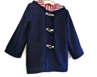 Toddler duffle coat | Etsy