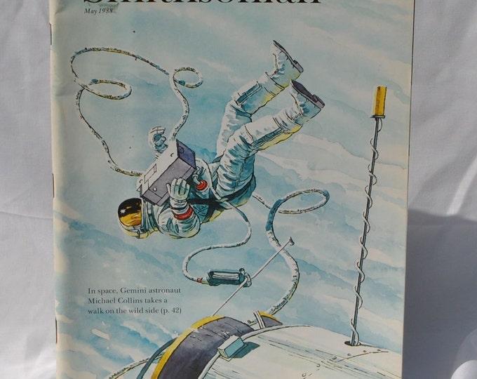Vintage Smithsonian Magazine, May, 1988, Gemini, Astronaut, Michael Collins, Paul Gauguin, Marvin Samuels, Tumbleweed, Andrew Jackson