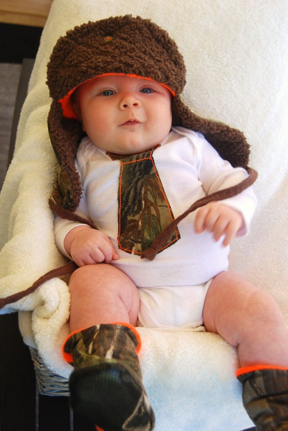 Handmade From Realtree Camo Baby Redneck Outfit Mossy Oak Baby