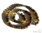 Raw Unpolished Baltic Amber Necklace For Men, Unisex Amber Necklace