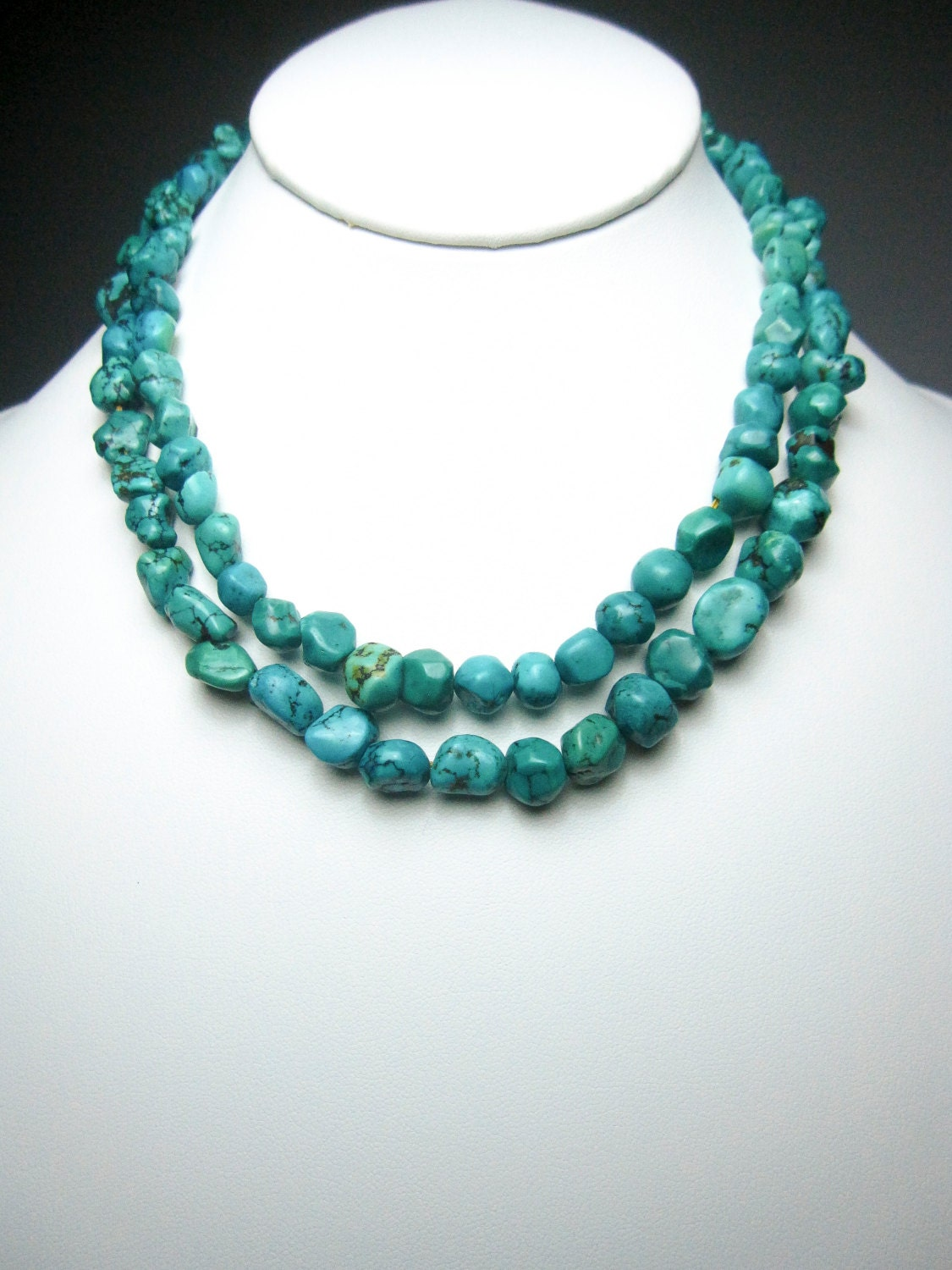 genuine turquoise jewelry natural turquoise necklace healing