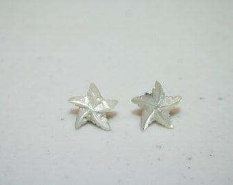 Small Starfish Earrings,starfish earrings,post earrings,small post earrings,star earrings,sea star earrings,small starfish earrings