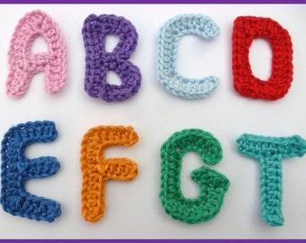 Valentine Amigurumi Free Pattern : Items similar to Crochet Letters, Alphabet, Amigurumi ...
