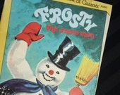 Frosty the Snow Man by Anne North Bedford and pictures by Corinne Malvern vintage 1972 Disneyland Little Golden Book and Cassette BOOK ONLY