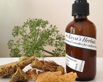 Raw Honey and Turmeric: Organic Cleanser. Organic Skin Care, Acne, Oily to Normal Skin, Organic Acne Cleanser, Acne Soap