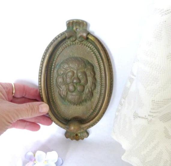 Brass lions head door knocker door knocker front door - Brass lion head door knocker ...