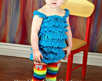 Ready To Ship - Bright Rainbow Stripe Bow Legwarmers - Leg Warmers - Sequin Bow Embellished - Toddler, Infant or Child Photo Prop