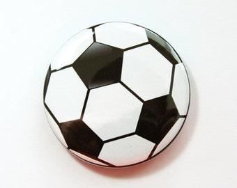 Soccer Ball bottle opener, Bottle Opener, Beer bottle opener, Soccer Ball, gift for him, soda bottle opener, football, Soccer (3694)