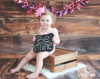 CHALKBOARD Photo Prop for Valentines Day Chalk Board Reusable Prop Valentines Gift