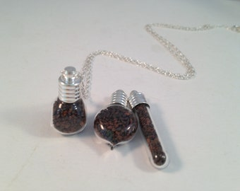 Shells, Sand, Red Sand, Black Sand, Maui Sand, Hawaiian Jewelry, Made in Hawaii, Maui Jewelry, Gifts for Her, Clearance Jewelry