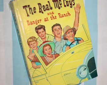 The Real McCoys and Danger At The Ranch, 1961 Whitman book